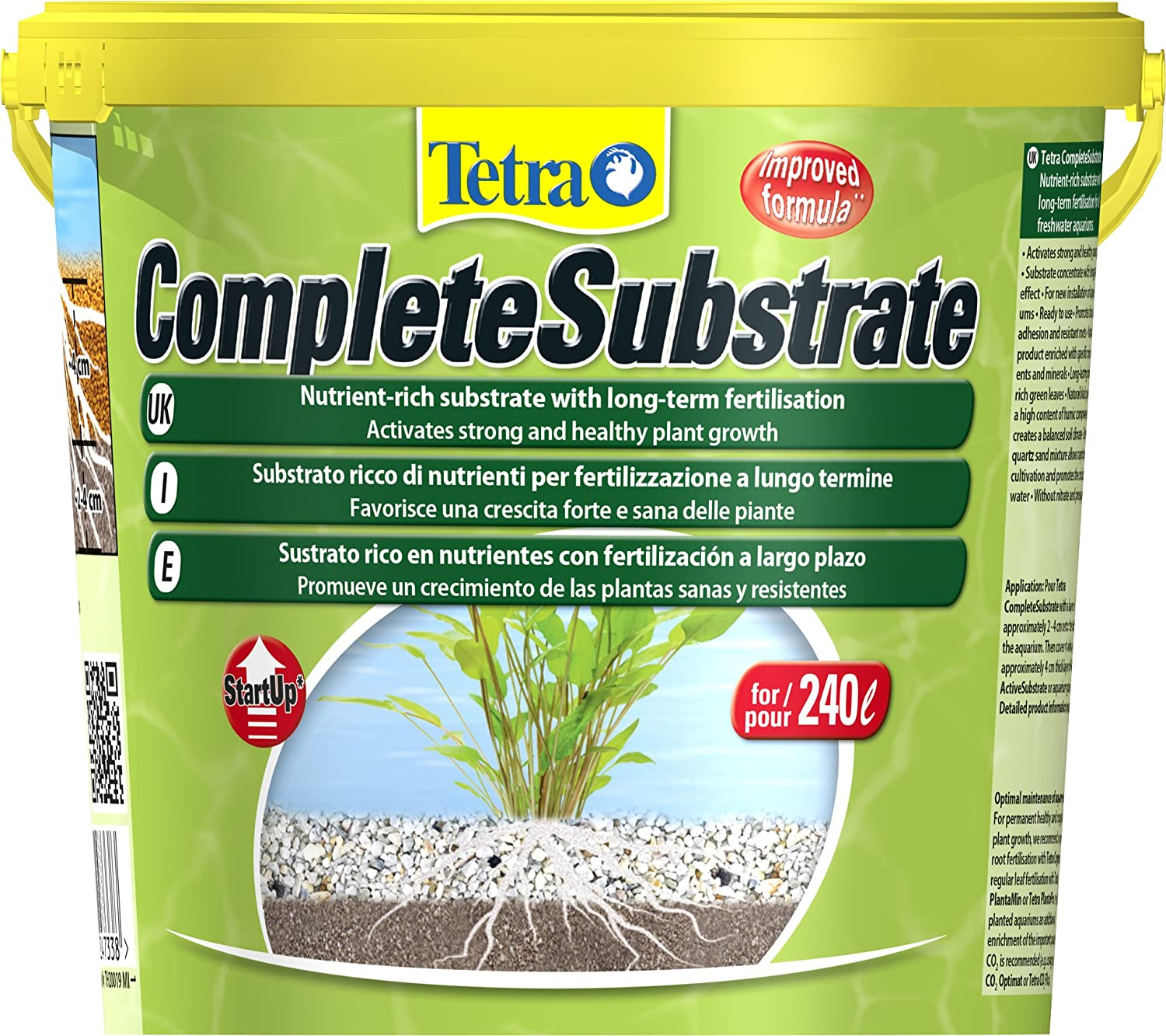 Tetra Complete Substrate For Long Term Fertilisation 10 Kg Amazon Voucher Joox Pet Supplies