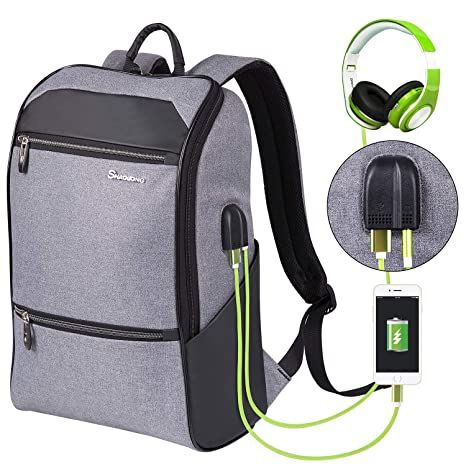 Amazon.com  Laptop Backpack for Men   Women with Waterproof 80ac0be5491c3