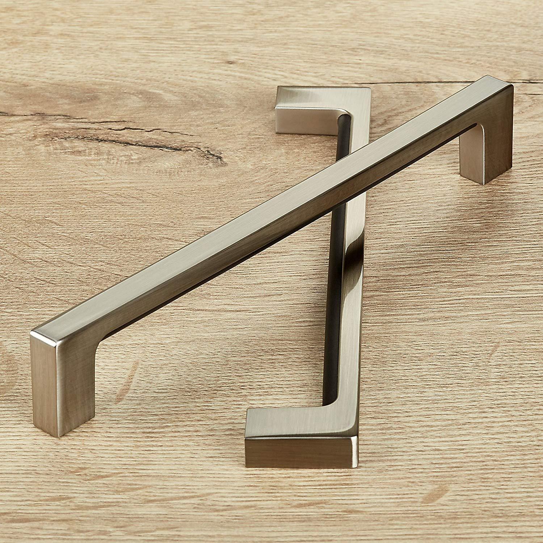 5 x M/öbelgriffe ST01 BA 192 mm Chrom poliert Schubladengriffe T/ürgriffe von SO-TECH/®