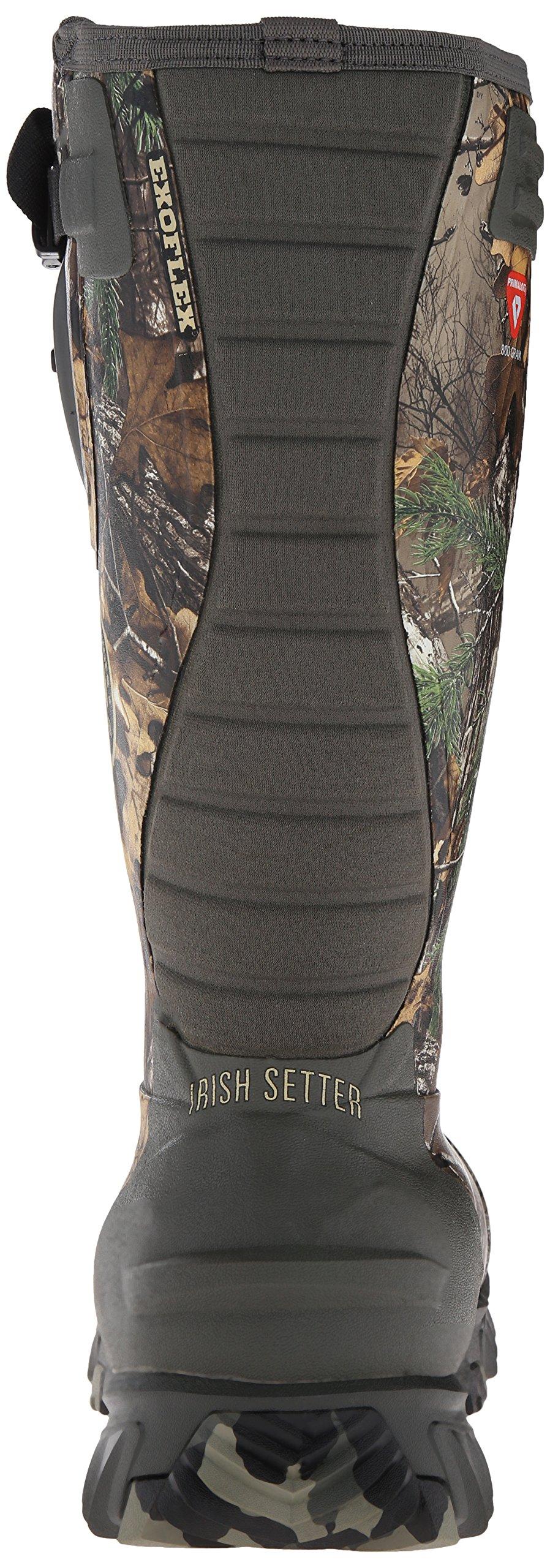 Irish Setter Men's 4881 Rutmaster 2.0 17'' 800-Gram Rubber Boot, Camo, 8 E US by Irish Setter (Image #2)