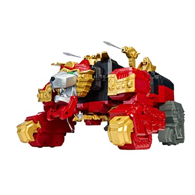 Power Rangers Ninja Steel ‑ Lion Fire Fortress Zord: Toys & Games