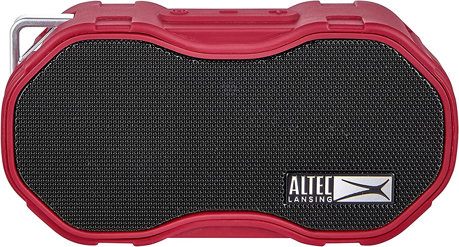 Altec Lansing Baby Boom XL Portable Bluetooth Speaker, Waterproof Portable Speaker with Deep Bass and Loud Sound, 100 Feet Bluetooth Range for Travel, Sports, Home, Parties Outdoors…