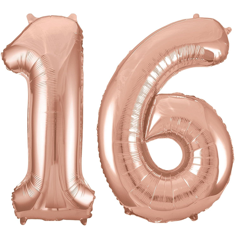 16 conf 16th Birthday Decorations RhinestoneSash 34 Giant Silver 16 Foil Mylar Balloon /& Set of 6 Matte Silver Confetti Clear Balloons Silver Silver Unique BALLOON0FOIL16 CSLV Baln