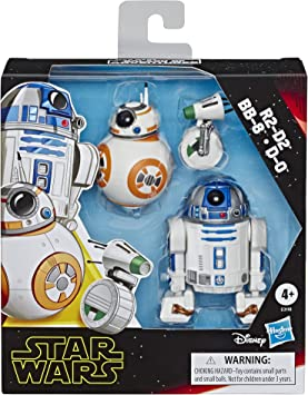 Lot 2Pcs Star Wars Galactic Heroes Playskool BB-8 /& R2-D2 Rare Figure Boy Toys