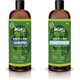Argan and Hemp Oil Shampoo and Conditioner, Hair Loss/Repair- Thickens & Enriches Thinning Hair For Men & Women-Natural…