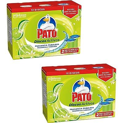 Pato - Discos Activos Lima - 36 ml x2 - [Pack de 2]