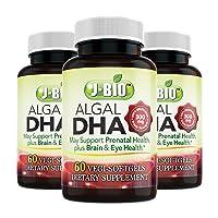 J-bio Algal DHA 300mg Support prenatal Health Plus Brain & Eye Health (3)