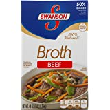 Swanson Broth, Beef, 48 Ounce (Pack of 8) (Packaging May Vary)