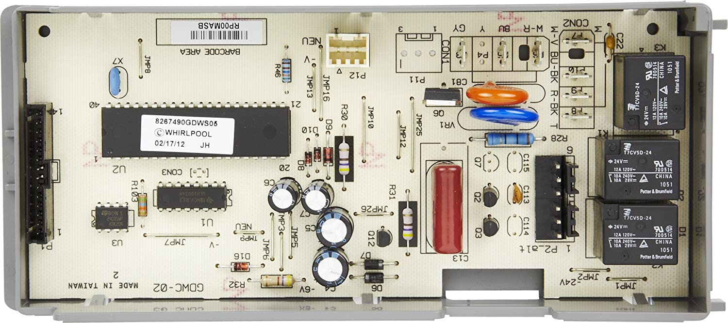 Whirlpool 8564543 Electronic Control Board Home Improvement Amazoncom Circuit Boards Tools