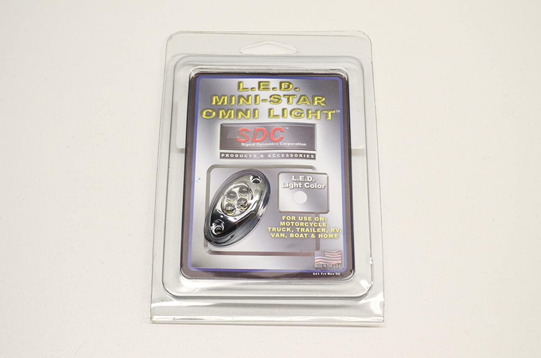 Amazon.com: Signal Dynamics 3234 4 LED Omni/White-Chrome Case QTY 1: Automotive