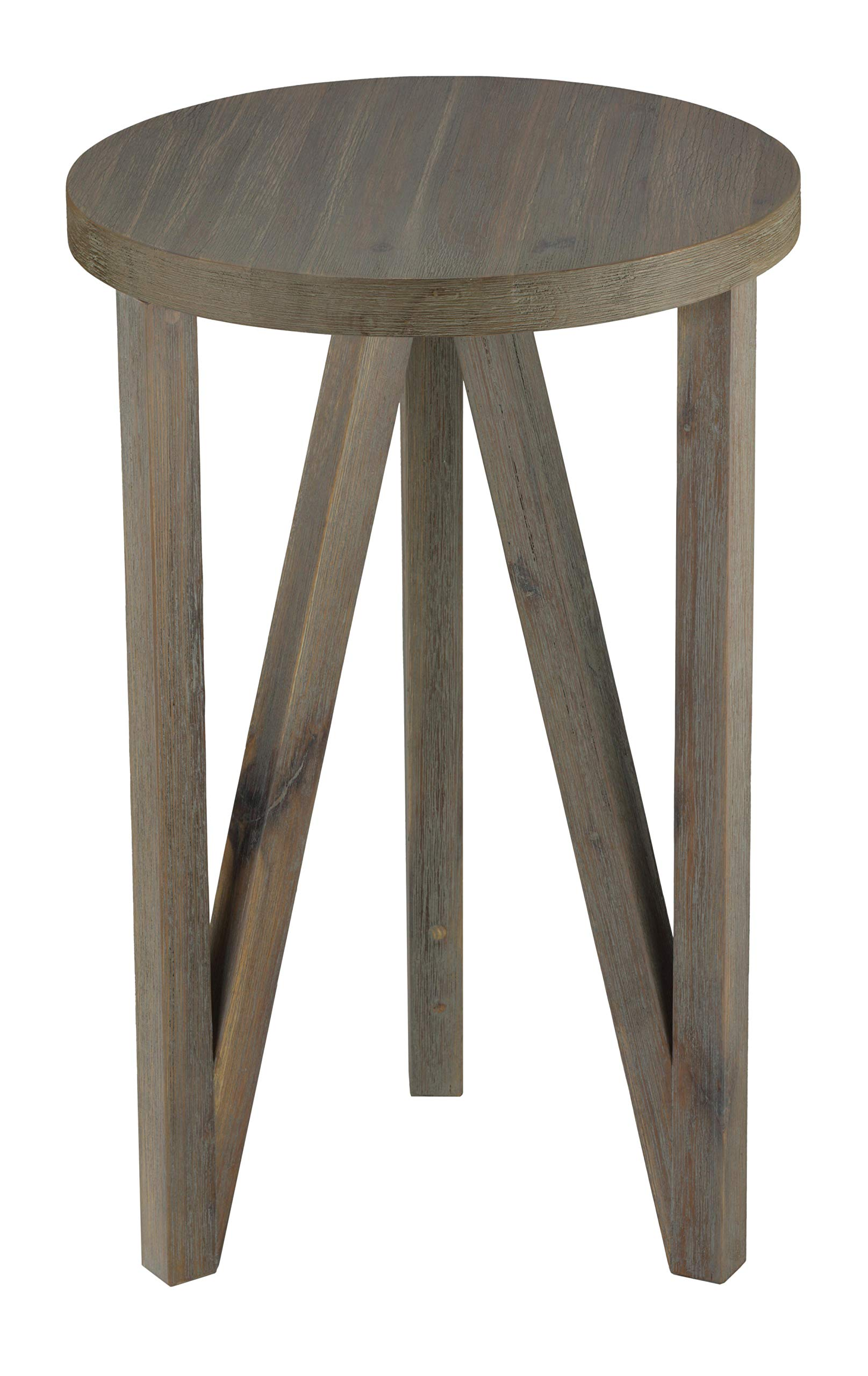 Cortesi Home Tobin End Table in Solid Wood by Cortesi Home