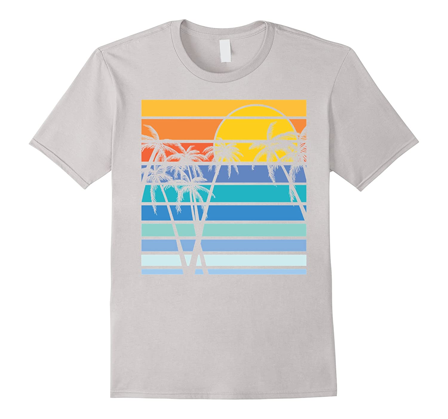 Beach palm tree t shirt for men women youth goatstee for Beach t shirts for men