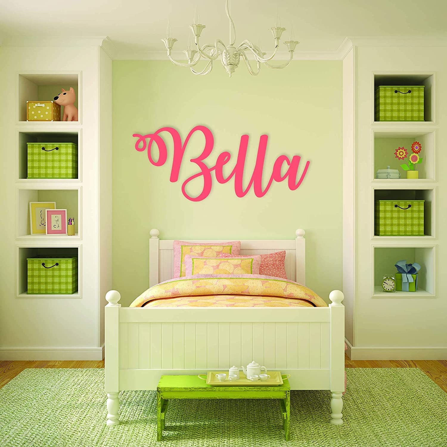 Amazon.com: Custom Personalized Wooden Name Sign 12-55\