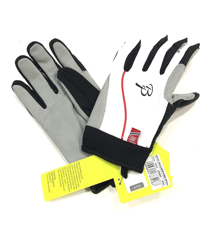 XXL et/à 11 Colore Bianco Nero Grigio Bj/örn Daehlie 321191 Glove New Prime Guanti Active tg