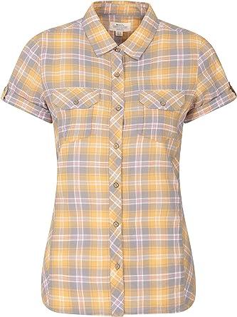 Mountain Warehouse Camisa de algodón Holiday para Mujer - Top de ...