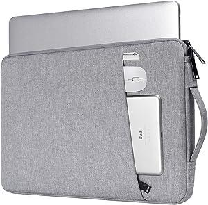14-15 Inch Chromebook Sleeve Case for HP 2019 14 Laptop/HP Stream 14, Lenovo Chromebook S330/Lenovo Yoga C930 C940 C740, Acer Aspire 1/Acer Chromebook 14, Dell Inspiron 14/Dell XPS 15(Light Grey)