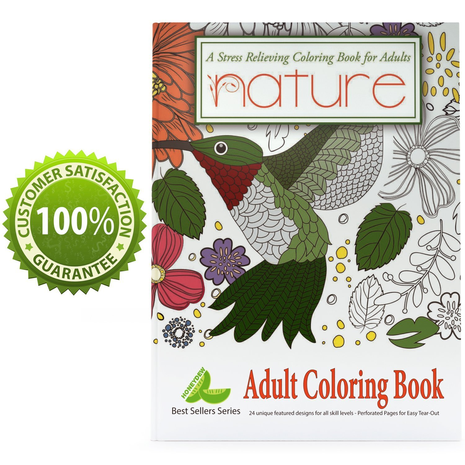 Amazon.com: Adult Coloring Book with Animal Pictures and Beginners ...