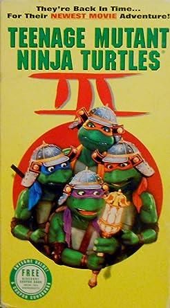 Amazon.com: Teenage Mutant Ninja Turtles III [VHS]: Elias ...