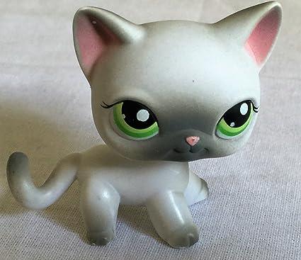 Amazon.com: Gato # 125 Ojos verdes Littlest Pet Shop ...