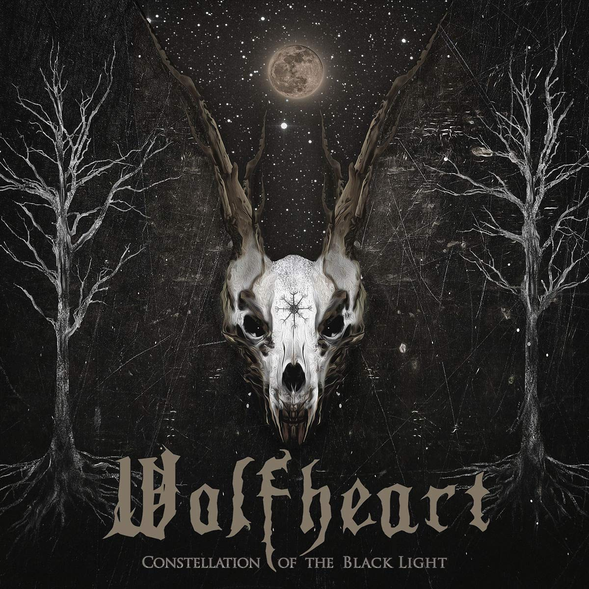 CD : Wolfheart - Constellation Of The Black Light (CD)