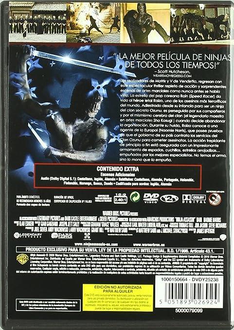 Ninja assassin [DVD]: Amazon.es: Jonathan Chan-Pensley, Rain ...