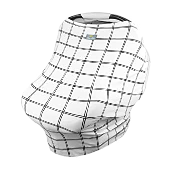 Breathable Shopping Cart Cover /& Infinity Scarf Car Seat Canopy Cart Cover /& Scarf Multi-Use Mom Boss Breastfeeding Cover Constellation Itzy Ritzy 4-in-1 Nursing Cover Car Seat Cover