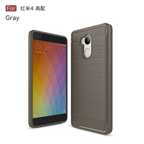 premium selection a6dd1 1639e Amazon.com: Xiaomi Redmi 4 Prime Case - TianTa - Carbon Fiber Case ...