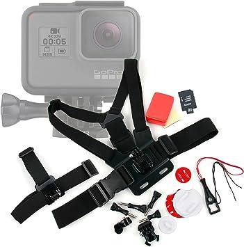 DURAGADGET Kit de Accesorios para Cámara Deportiva GoPro HERO7 Black, GoPro HERO7 Silver, GoPro HERO7 White: Amazon.es: Electrónica