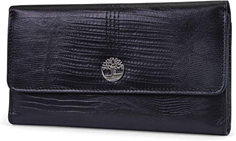 wholesale online buy online recognized brands Timberland Womens Leather RFID Flap Wallet Clutch Organizer