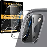 "[2 Pack] UniqueMe Camera Lens Protector for iPad Pro 2020 [ 11"" 12.9"" ][New Version] Tempered Glass Screen Protector [Case Friendly] Easy Installation -Clear"