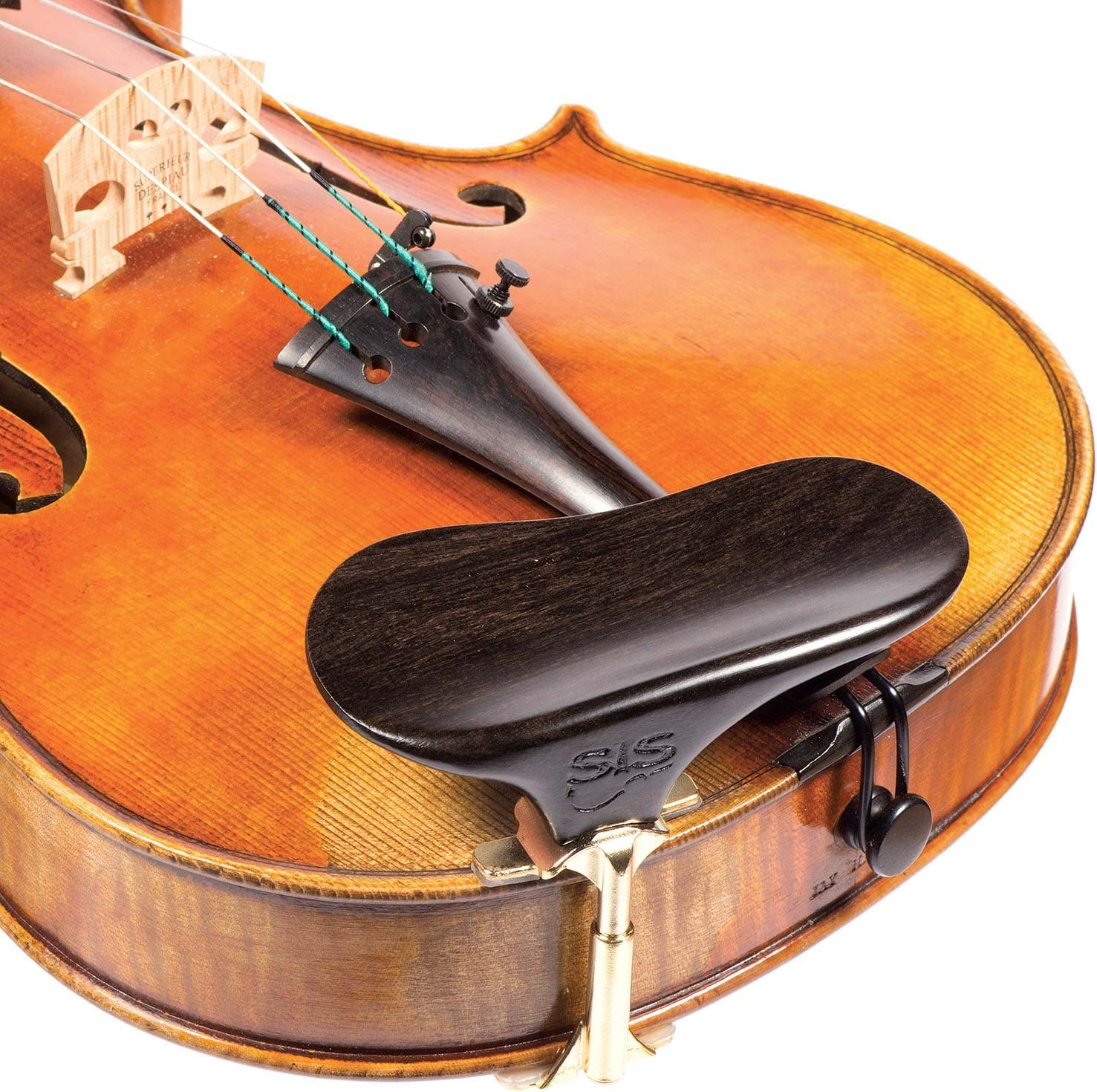 New Flesch Model Finest Quality Rosewood Violin Chinrest