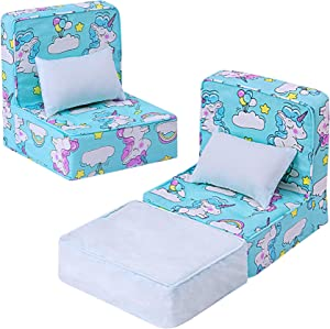 ZITA ELEMENT 5 Pcs American 18 Inch Girl Boy Doll Accessories Furniture Sofa with Pillow Set for 14.5 - 18 Inch Doll Accessories My 18