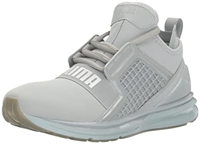 87a616d6b706 PUMA Women s Ignite Limitless Metallic WN s Cross-Trainer Shoe Quarry 5.5 M  US