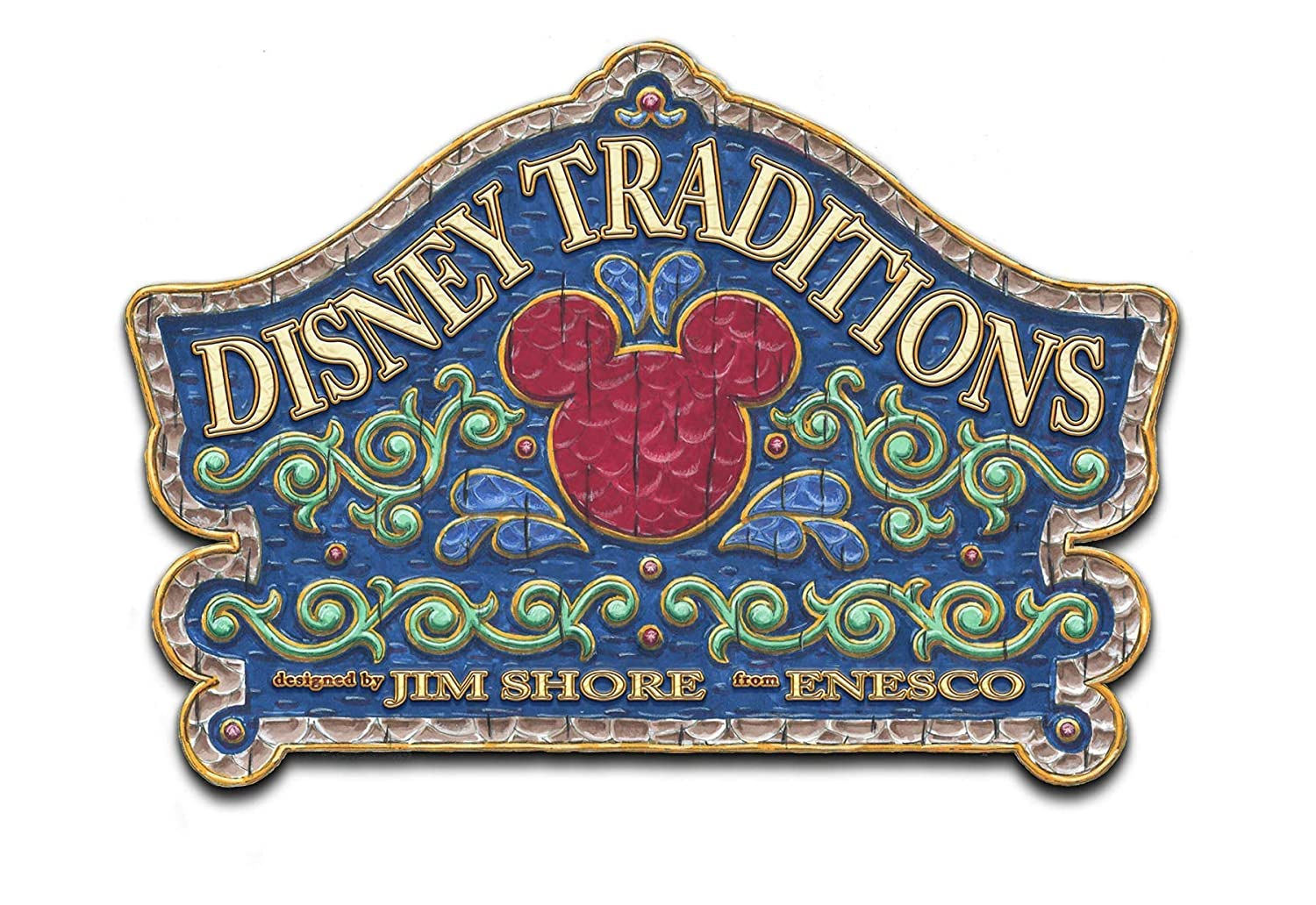 Disney Traditions by Jim Shore Christmas Dumbo Stone Resin Figurine, 5