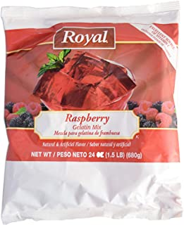 product image for Royal Raspberry Gelatin, 24 Ounce -- 12 per case.
