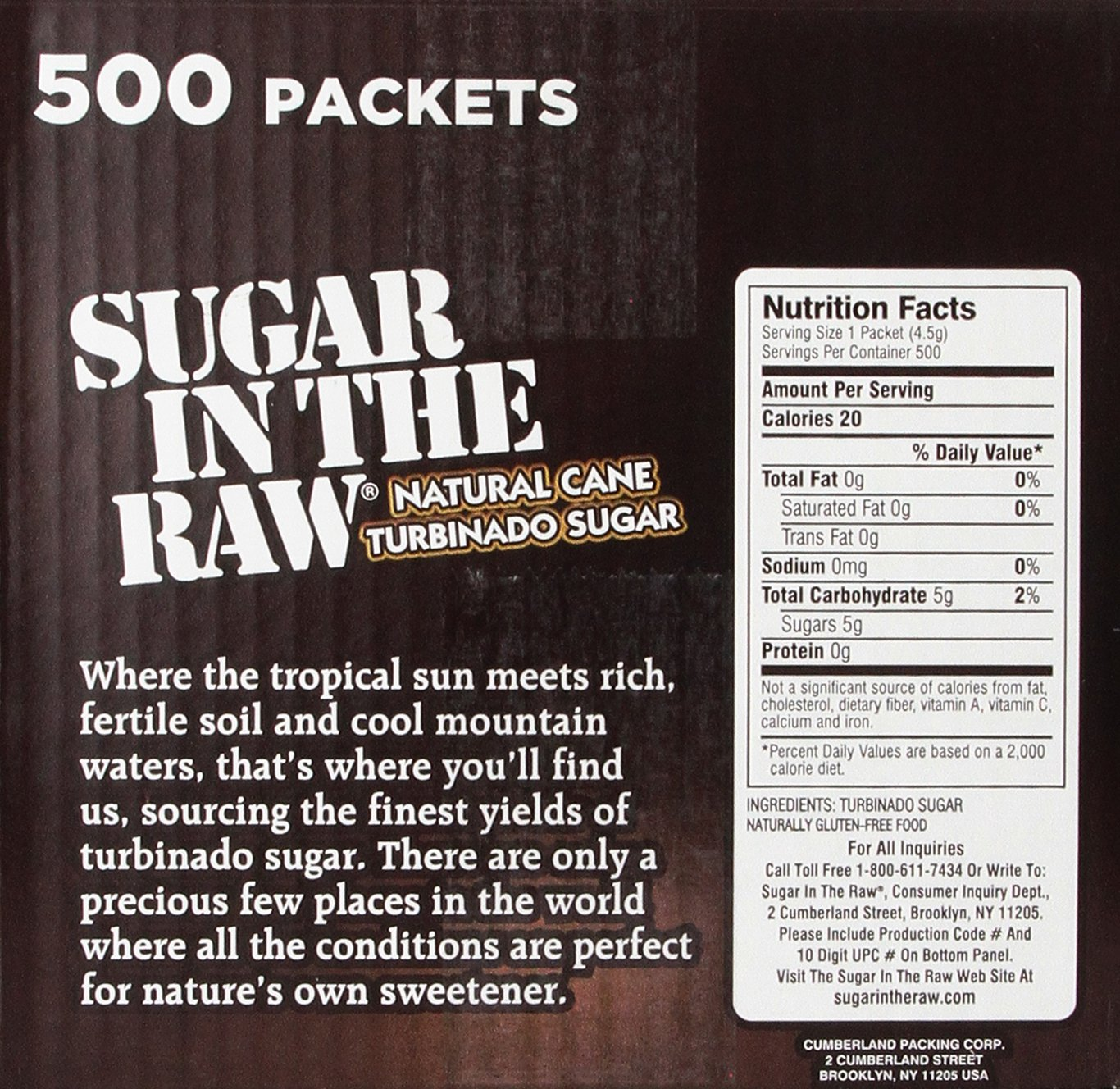 Amazoncom Sugar in the RawRaw Sugar Natural Cane Turbinado