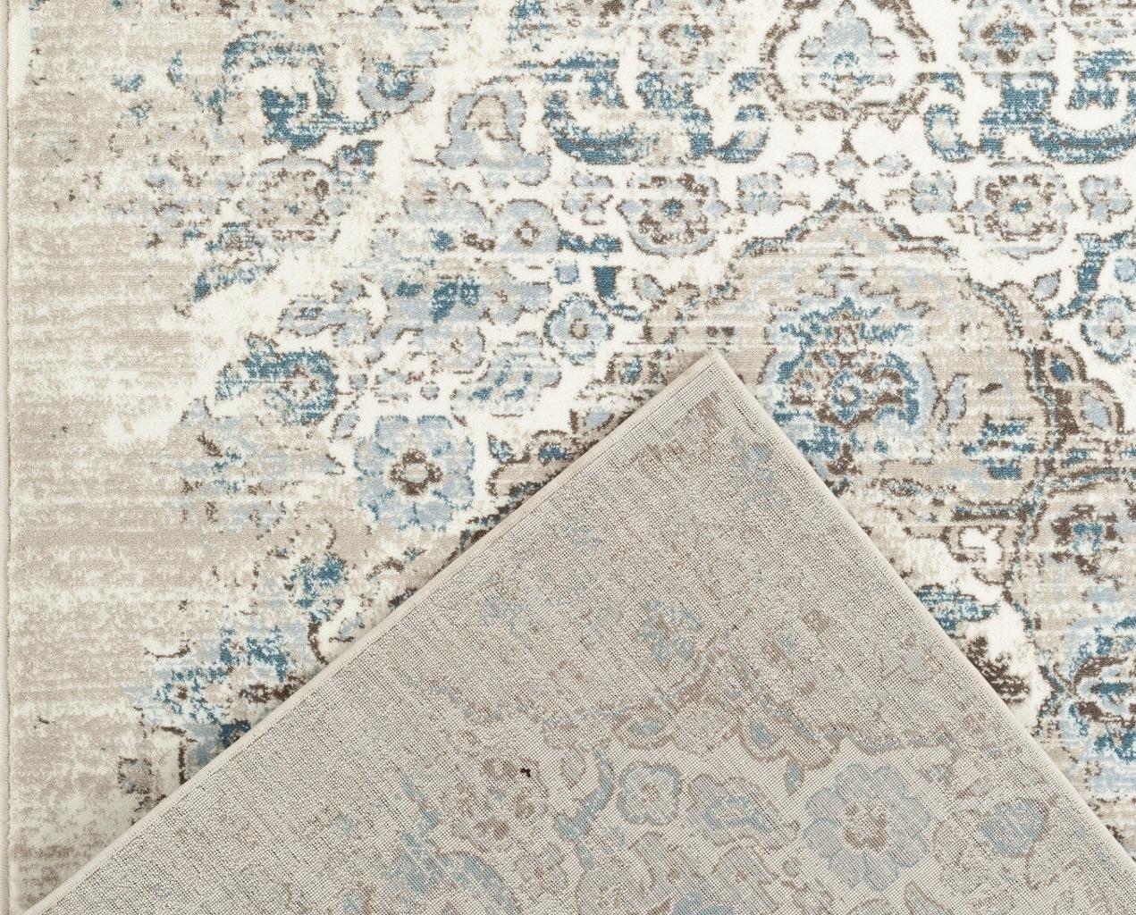 c89bc4ec5a8 4620 Distressed Cream 6 5x9 2 Area Rug Carpet Large New ...