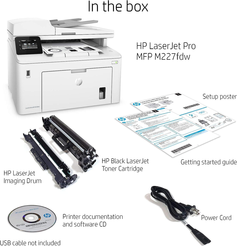 Amazon.com: HP LaserJet Pro M227fdw impresora láser ...