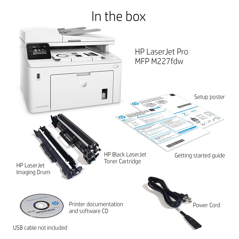 LaserJet Pro Impresora multifunción Pro M227fdw: Amazon.es ...