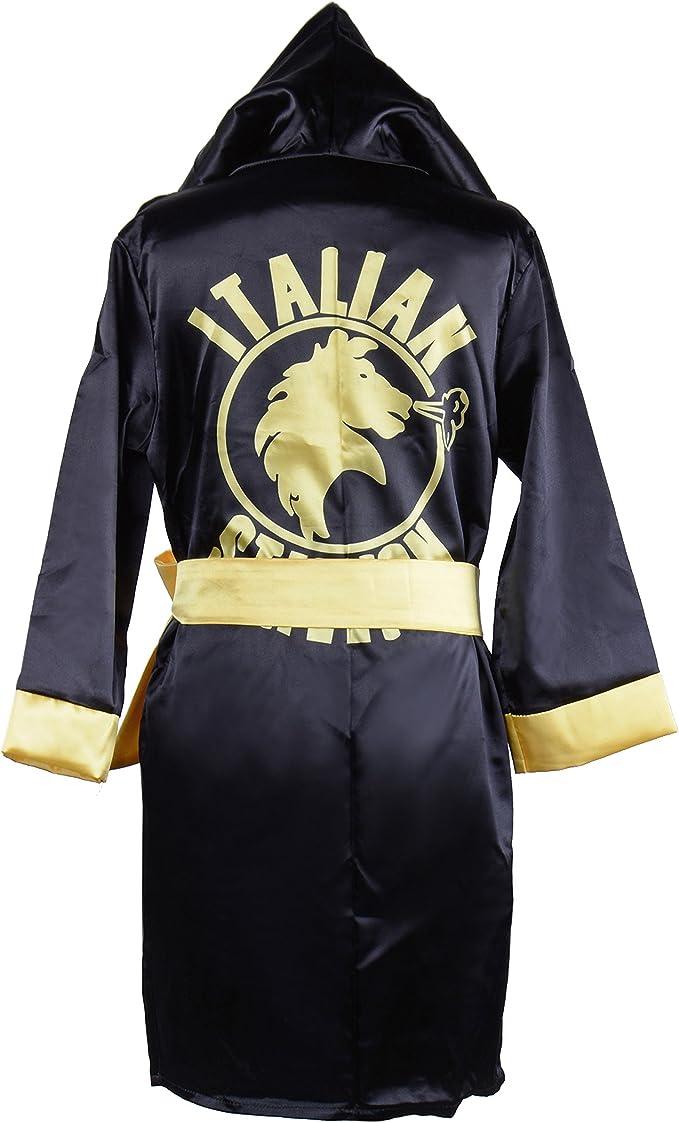 Amazon.com: hualil niños Rocky Balboa negro boxeo disfraz ...