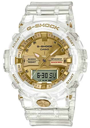 e64a1537147c Amazon.com  Casio G-Shock GA-835E-7AJR Glacier Gold 35th Anniversary ...