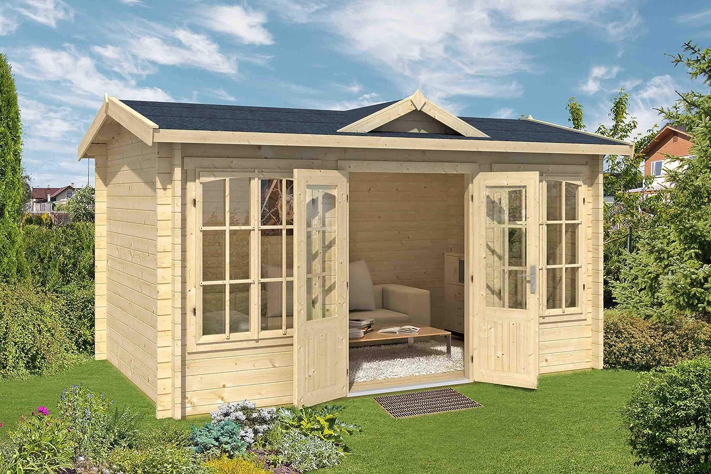 Jardín Casa G217 con soporte suelo – 44 mm listones hogar ...