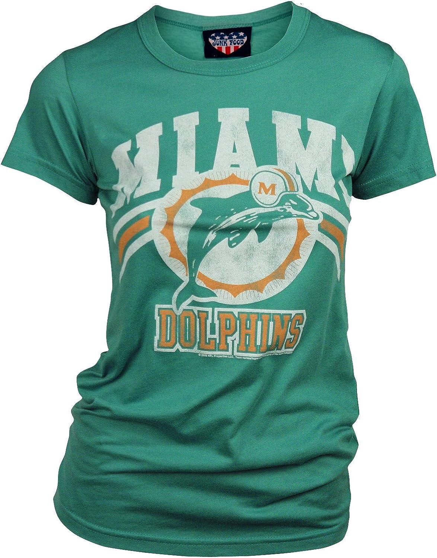 Miami Dolphins Women's Retro Vintage T-Shirt