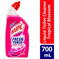 Harpic Fresh Power Liquid Toilet Cleaner Tropical Blossom, 700, Tropical Blossom