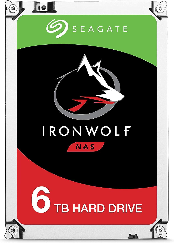 Seagate IronWolf, 6TB, NAS, Unidad de disco duro interna, HDD, 3.5 ...