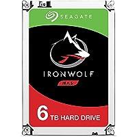 HD Interno Seagate | NAS IronWolf | Prata | 6TB | ST6000VN0033 Seagate, HD interno, Prata