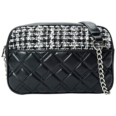 24f38567dc62 PACO TORA PU Leather Shoulder Bag fo Women Waterproof Black Handbag ...