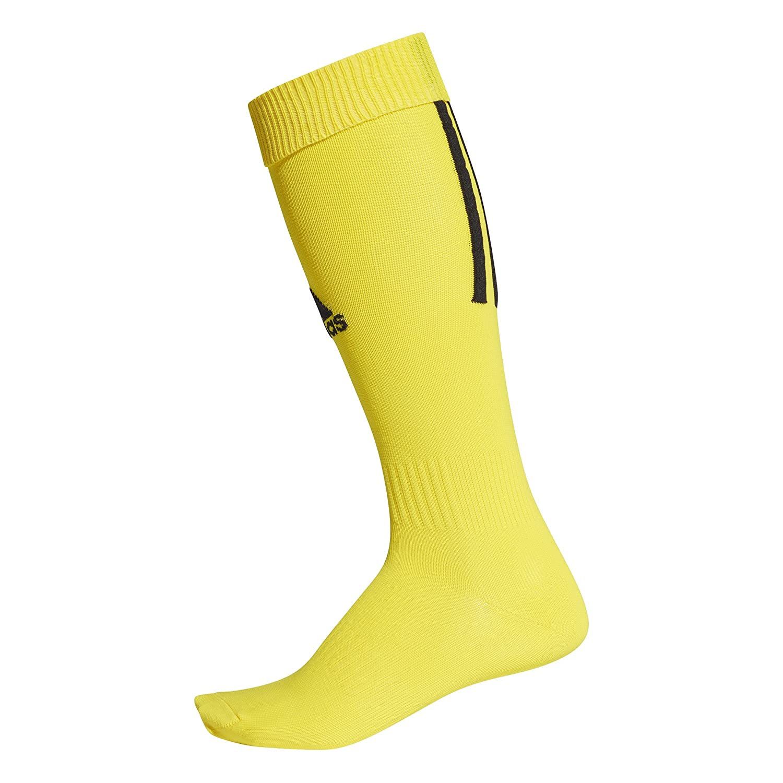adidas Unisex Santos 18 Soccer Socks, Yellow/Black, S CV8104
