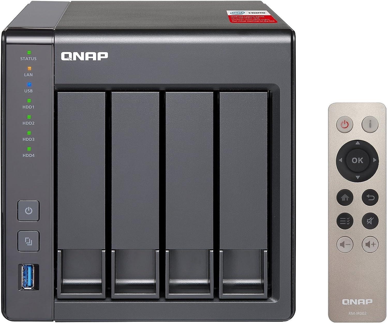 Qnap Ts 451 2g Desktop Nas Gehäuse Mit 2 Gb Ddr3l Ram Computer Zubehör