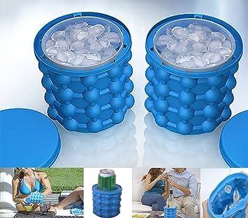 cristoferv Ice Cube Tray Ice Maker Elf silicona cubo de hielo ...